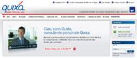 Snapshot del sito di Quixa Assicurazioni