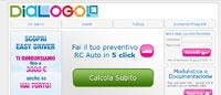 Snapshot del sito di Dialogo Assicurazioni