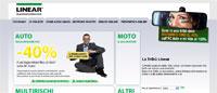 Snapshot de sito di Linear Assicurazioni