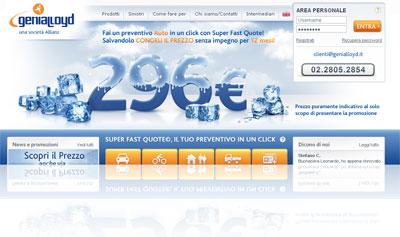 Analisi della compagnia assicurativa on-line Genialloyd