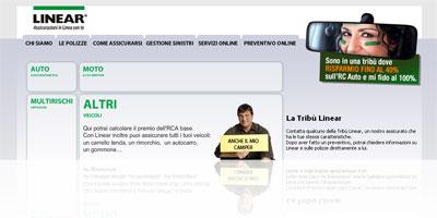 Compagnia assicurativa on-line Linear