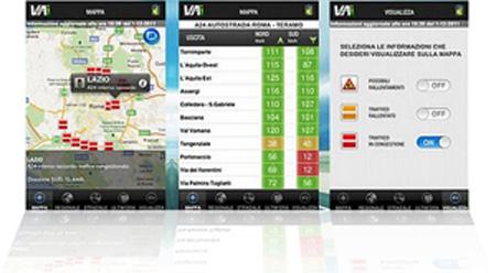 Vai di Anas - Screenshots dell'App Android