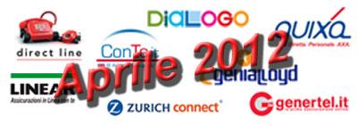 Offerte e Promozioni Assicurazione Auto On-Line di Aprile 2012