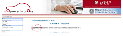 TuoPreventivatore.it - Home Page del sito