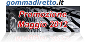 Promozione Gommadiretto.it di Maggio 2012