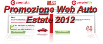 Genertel.it: Promozione Web Auto Estate 2012