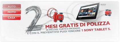 Promozione Direct Line: 2 Mesi RC Auto Gratis e Tablet Sony Omaggio