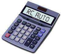 Calcolo del premio RC Auto