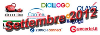 Assicurazione RC auto: offerte e promozioni di Settembre 2012
