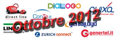 Assicurazione RC auto: offerte e promozioni di Ottobre 2012