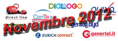 Assicurazione RC auto: offerte e promozioni di Novembre 2012