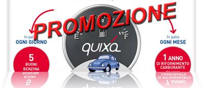 Promozione Riparti con Quixa e assicurati il pieno
