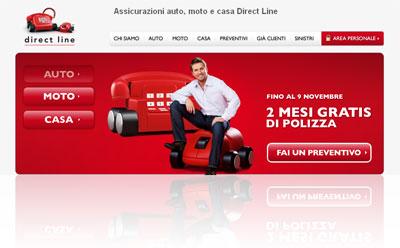Analisi della compagnia assicurativa on-line Direct Line