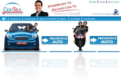 Analisi dell'assicurazione RC Auto on-line ConTe.it