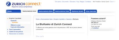 Garanzia BluKasko di Zurich Connect