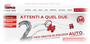 Promozione Direct Line: 2 mesi di polizza GRATIS