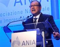 Aldo Minucci, Presidente dall'Ania